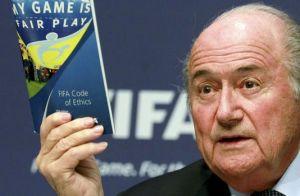 Joseph Blatter, le président de la FIFA, en mai 2011. ARND WIEGMANN / REUTERS