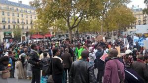 Manifestation diaspora paris2
