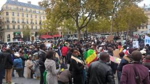 Manifestation diaspora paris 3
