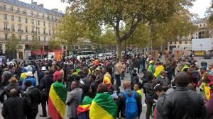 Manifestation diaspora paris 4