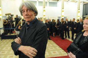 André Glucksmann en 2008. JACQUES WITT/AFP