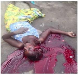 Le sang de notre martyre