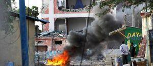 Hôtel soufflé de Mogadiscio