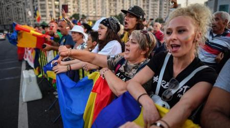 ROMANIA-GOVERNMENT-DEMO