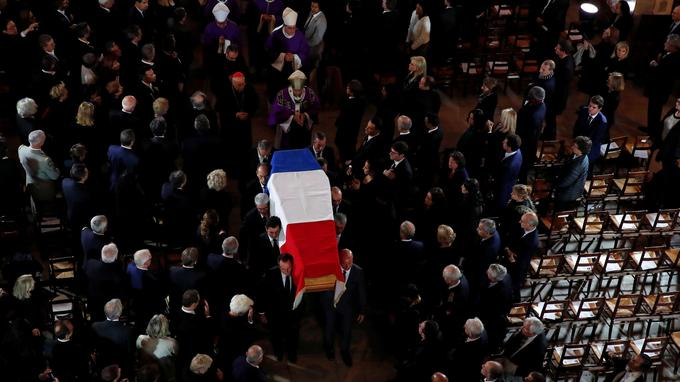 Official ceremony in memory of late French President Jacques Chirac
