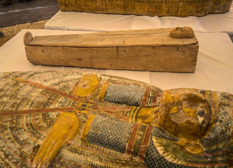 EGYPT-ARCHEOLOGY-ANTIQUITIES