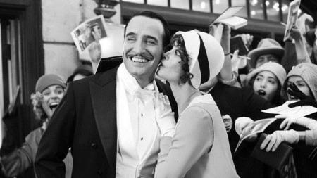 The Artist de Michel Hazanavicius avec Jean Dujardin et Berenice Bejo, 2011